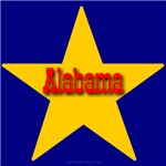 Alabama Star Monogram