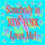 Somebody in New York Loves Me! Heavenly Blue