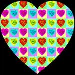 Heart Of Cat Hearts Black