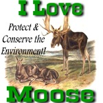 I Love Moose Conservation Promotion