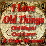 * On Sale * I Love Old Things: Maps! Cars! Older W