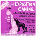 Exposition Canine Vintage Poster