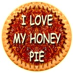 Pie Art -- I Love My Honey Pie