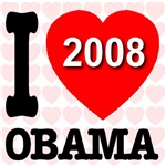 Obama I Love You 2008 gifts & apparel