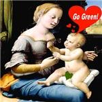 Baby Jesus says,