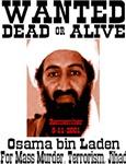 Wanted Osama bin Laden