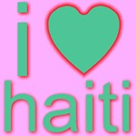i (heart) haiti Green Heart