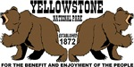Grizzly Bears Yellowstone National Park 1872