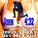 Boobbowing Jesus I Pray, Get Me Laid!