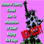 Red Alert Statue of Liberty Closed