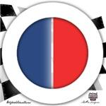 Cars Round Logo Blank