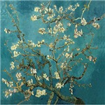 Van Gogh Blossoming Almond Tree