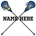 Lacrosse Name Customized