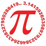 pi day in red