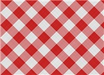 red checkered pattern