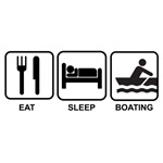 Eat sleep boating