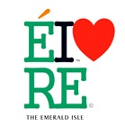 eire Ireland The Emerald Isle Classic Grn Lrg