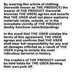 No Underwear Bombers Allowed