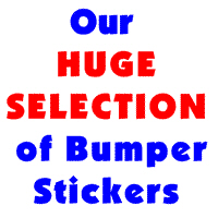 Just Bumper Stickers (174 of them!)
