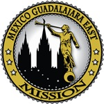 Mexico Guadalajara East LDS Mission Classic Seal G