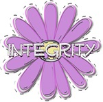 Integrity - Young Women Value LDS YW Purple Flower