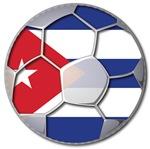 Cuba Flag World Cup Futbol Soccer Footbal  Ball