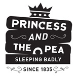 B&W Princess & the Pea Since 1835