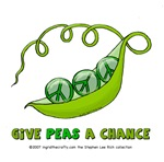 Give Peas a Chance - X