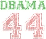 Obama 44 Pink & Green