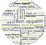 Bon appetit in other languages - Olive Green