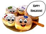 Happy Hanukkah Donuts