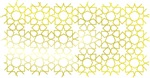 Gold Islamic Art Star Pattern