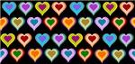 Groovy Hearts Pattern