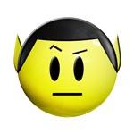 Spock Smiley #1