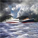 Titanic and Britannic