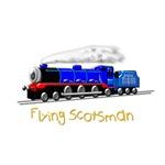 Flying Scotsman for Kids
