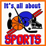 IT'S ALL ABOUT SPORTS