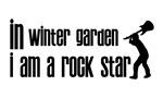 In Winter Garden I am a Rock Star