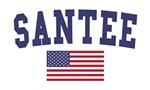 Santee US Flag
