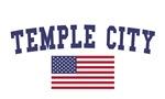 Temple US Flag
