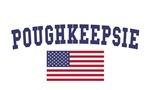 Poughkeepsie US Flag