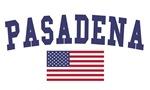 Pasadena Ca US Flag