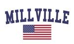 Millville US Flag