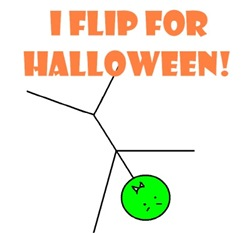 I FLIP FOR HALLOWEEN!