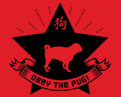 Obey the Pug! Logo