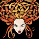 Celtic Knot Woman