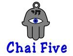 Chai Five Hamsa