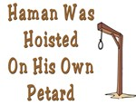 Haman was Hung Up