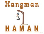 Purim Hangman Haman 