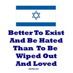 Israel's Right To Exist T Shirts and Gifts